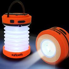 Faltbare LED Camping Laterne Taschenlampe Dynamo Kurbel Outdoor Leuchte Zelt