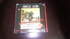 """UNCLE ACID """"MIND CRAWLER"""" BLUE VINYL SINGLE 7"""" LTD ED."""