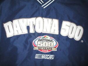 RYAN NEWMAN Winner (Feb 17 2008) DAYTONA 500 Raised Letters (LG) Jacket 50 YEARS