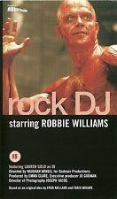 ROBBIE WILLIAMS Rock DJ ORIGINAL UK 2000 VHS TAPE Take That