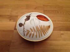 Royal Worcester Casserole Dish Shape 22 Size 3 ( Decorated with Hazel Nuts Corn.