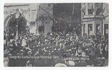 Gardes Ville-Marie Congrès Eucharistique MONTREAL Quebec 1910 Federated Press
