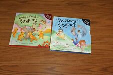 Baby's Rhymes Nursery DC Songs HC Book Lot Parragon