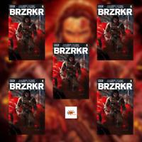 BRZRKR #1 5 Copies - Cover A Investor Pack! Movie? Grampa Cover Keanu Reeves