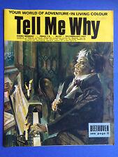 TELL ME WHY - Your World de aventure - N°24 - Février 1969 - Merveilles MAGAZINE