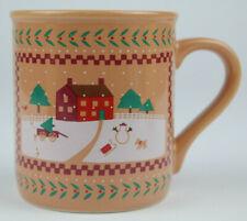 Vintage 1985 Hallmark Christmas Holiday Coffee Mug