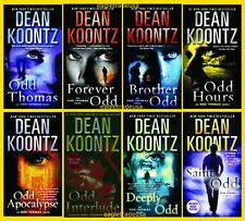 Dean Koontz Odd Thomas Collection Set 1-8 Adult Thriller Horror Fiction Series!!