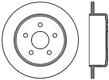 Disc Brake Rotor-Sport Drilled Disc Rear Right Stoptech 128.67067R