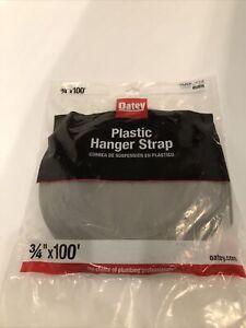 "Oatey 33528 3/4"" x 100 ft. Plastic Hanger Strap"