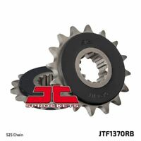 JT Rubber Cushioned Front Drive Motorcycle Sprocket JTF1370RB 15 Teeth