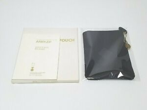 BTS ARMY 2nd Term Membership Kit Official POUCH With ARMY ZIP