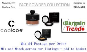 Cool Cos Denmark Paraben Parfum Free Make FACE POWDER Collection #BargainTrend