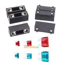 6pcs Automotive Blade Fuse Holder Assorted Car Auto Replacement Fuse ATC ATO ATM