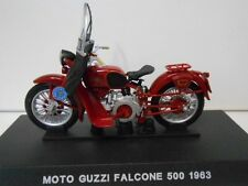 MOTO GUZZI FALCONE 500 POLICIA ESTADO STRADALE MOTO BIKE 1963 1/24 DeAGOSTINI