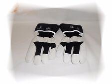 Gants Travail En Cuir Véritable Contre le Froid Blanc Noir Hiver TEGERA 395 T 9