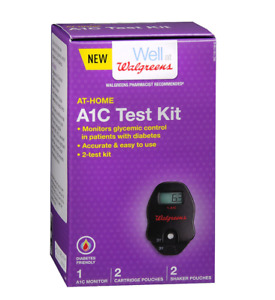 Walgreens At Home A1C Test Kit New!