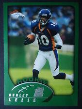 NFL 363 Ashley Lelie Denver Broncos Rookie Topps 2002