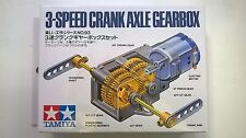 TAMIYA EDUCATIONAL 3-SPEED CRANK AXLE GEARBOX ART 70093