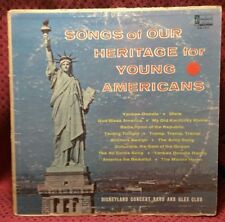 Disney - Songs of Our Heritage for Young Americans, Vinyl LP, DQ 1217, 1964