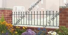 "18"" MADE TO MEASURE SOLID WROUGHT IRON METAL FENCING/RAILING PANEL MANOR GRILLS"