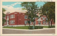 Junior High School in Moberly MO Postcard