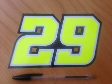 Andrea Iannone Number 29 Decal 2016 (large)