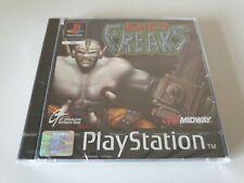 Bio Freaks. ps1 Game. komplett. NEU & VERSIEGELT (Playstation One, ps3. PAL)