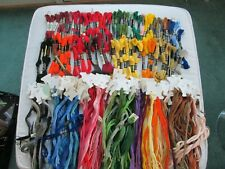 248 DMC Embroidery Thread Floss: Skeins & Carded Multi-Color New & Pre-owned