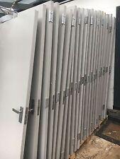 50 x Solid Core Doors Painted Grey includes Commercial Door Hardware RRP $42,500