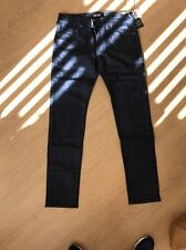 True Religion Mens Rocco Skinny  Midnight Blue Jeans BNWT £155 W32 L34