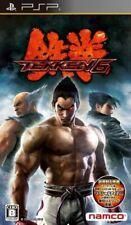 USED PSP Tekken 6 PlayStation Portable 97300 JAPAN IMPORT