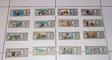 16 diverse figurine EDIS TORINO serie Far West Dollari Banconote Punti Raccolta