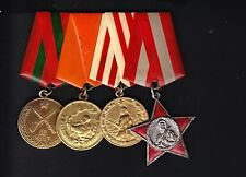Albania. Albanian Four Medals Together.Belong to One Person. R4