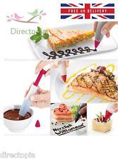 SILICONE glassa al cioccolato crema di Pasticceria Decorazione Siringa Penna strumento da cucina