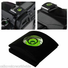 1X Hot Shoe Bubble Spirit Level Cover Protector Cap For Canon Nikon DSLR Camera