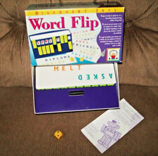 Discovery Toys Word Flip Family Fun Word Game Complete in Box Instructions