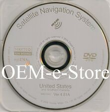 2006 2007 2008 2009 2010 Acura TSX & RL Navigation White DVD Map V 4.81A Update