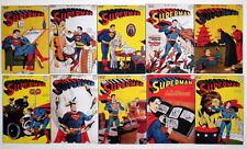 """(10) SUPERMAN COMICS 2"""" x 3"""" COVER MAGNETS - Superman #41-50"""