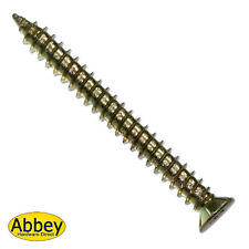 Qty 25  7.5 x 202mm CONCRETE SCREW - TORX 30 DRIVE -Frame Fixing -Masonry Screw
