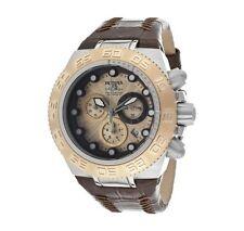 Invicta 10851 Subaqua Sport Chronograph Rose Gold Tone Textured Dial Men's Watch