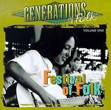 Generations of Folk, Vol. 1: Festival of Folk  CD (JOAN BAEZ/KINGSTON TRIO)