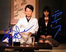LUCY LIU CHIAKI KURIYAMA KILL BILL RARE 8X10 SIGNED PHOTO 323
