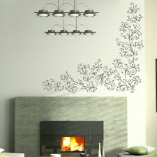 Vine Reed Flower Wall Sticker / Removable wall decor Floral Wall Transfers bn27