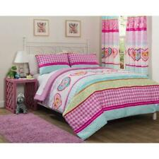 Heritage Club Hearts and Stripes Patchwork Comforter Bedding Set