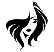 Hair & Face, Hair, Salon, Car, Van, Trailer, Wall, Door, Art, Decal, Sticker.