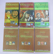 3 LIBRI + 3 VHS film ODISSEA Bekim Fehmiu Irene Papas L'UNITA' (F15) no dvd