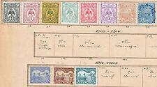 Nelle Calédonie Petit lot de 11 timbres cotant 10€ (70ct de port)