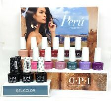 OPI Gelcolor Soak-off Nail Polish PERU Collection - All 12 Colors - NO display