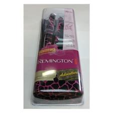 """Remington 1/2"""" Travel Mini Ceramic Flat Iron S-2880 Black/Pink"""
