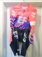*NEW* 2020 RAPHA EF Pro Cycling Team Long Sleeve AeroSuit TT Skinsuit Medium M